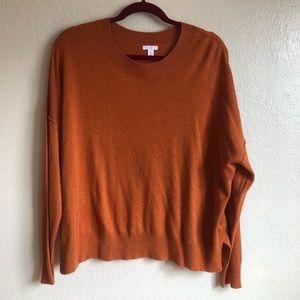 BP. Burnt Orange Sweater
